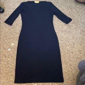 Donna Karan signature navy dress